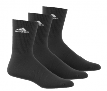 Calcetines media caña negros ADIDAS