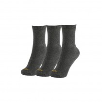 Calcetines Cortos Gris Oscuro (pack 3 uds)