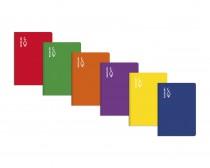 libreta cuarto montessori 3,5 margen escolofi tapa dura 50 hojas cuaderno espiral material escolar