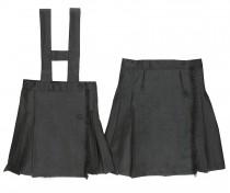 Falda Uniforme Gris Oscuro